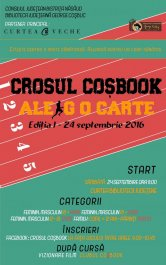 Crosul Coșbook – Ale(r)g o carte!